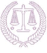 avocat logo blanc